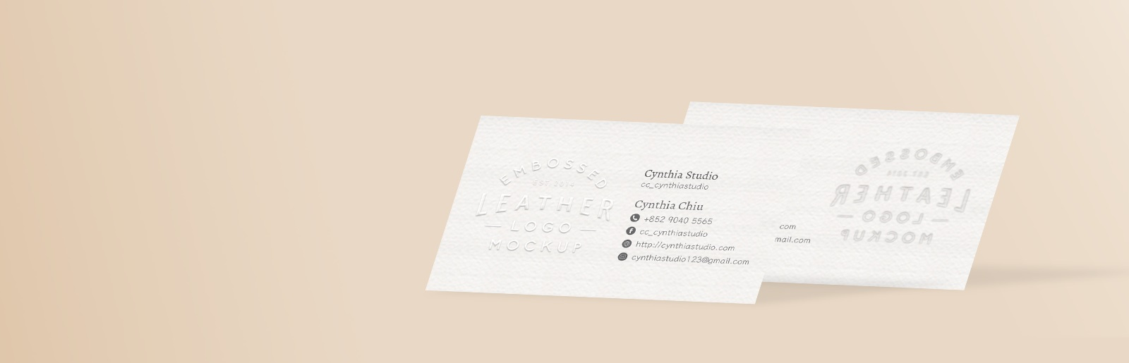 Embossed business cards joinprint business card printing home business cards embossed business cards 1 reheart Gallery
