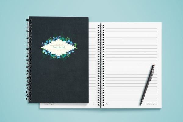 Personalised Gifts - Spiral Notebook