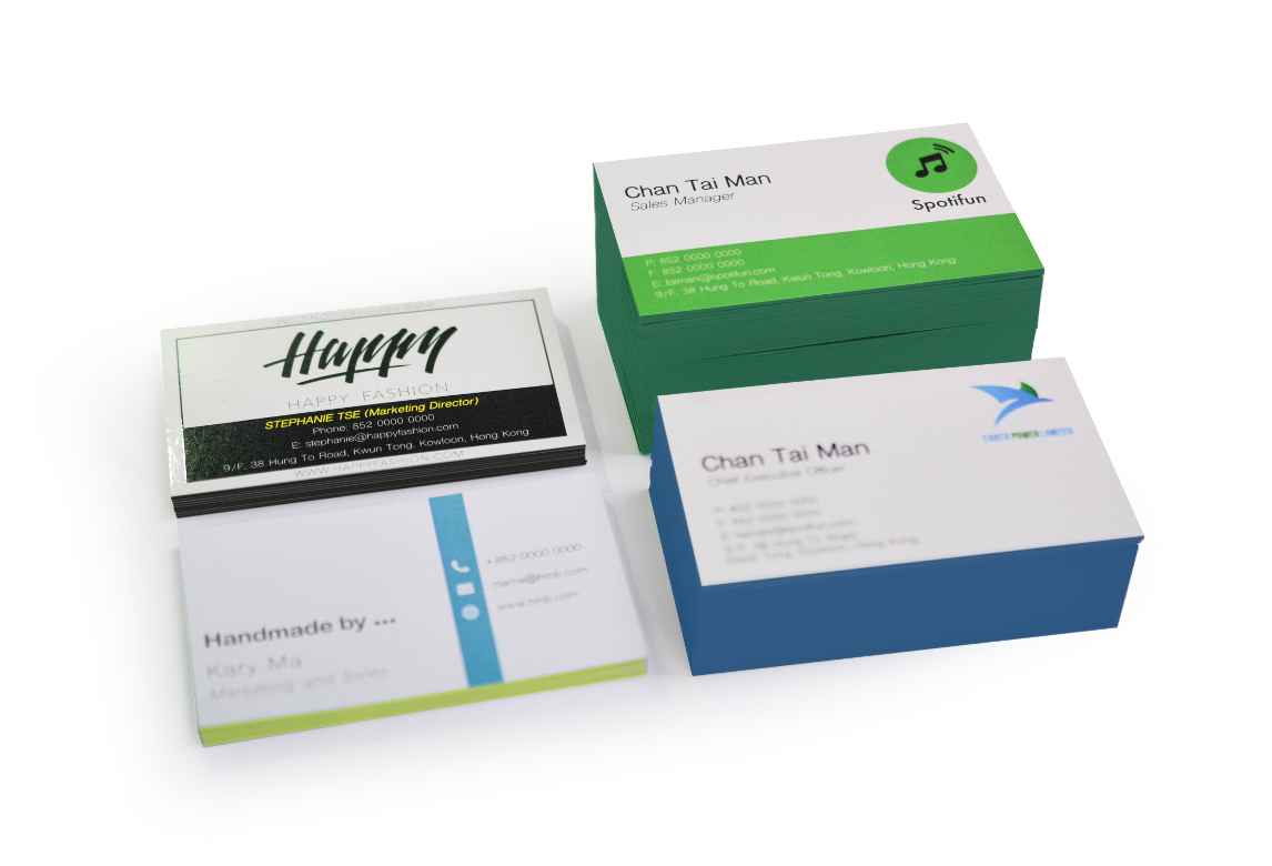 Coloured-Edge Business Cards