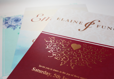 Wedding Invitation Card Printing Hong Kong Wedding Card